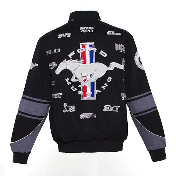 ford mustang official jacke racing jacket bomber mantel ebay. Black Bedroom Furniture Sets. Home Design Ideas