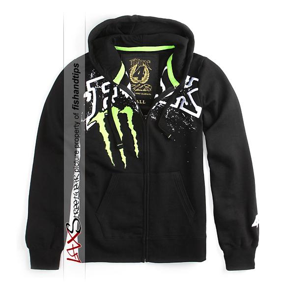 Fox monster hoodie