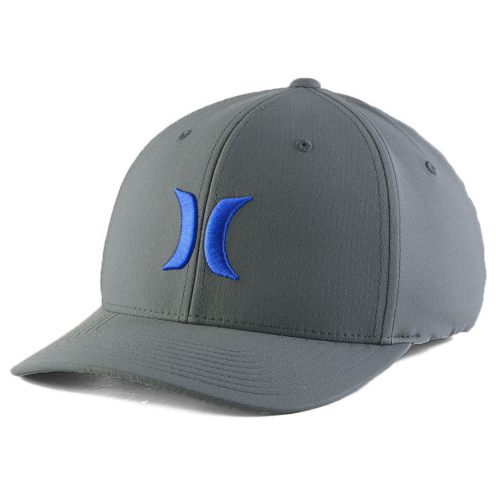 37ca0c6ffb3 Details about HURLEY Dri-Fit One and Only Flexfit hat cap surf skate flex  fit Dri fit