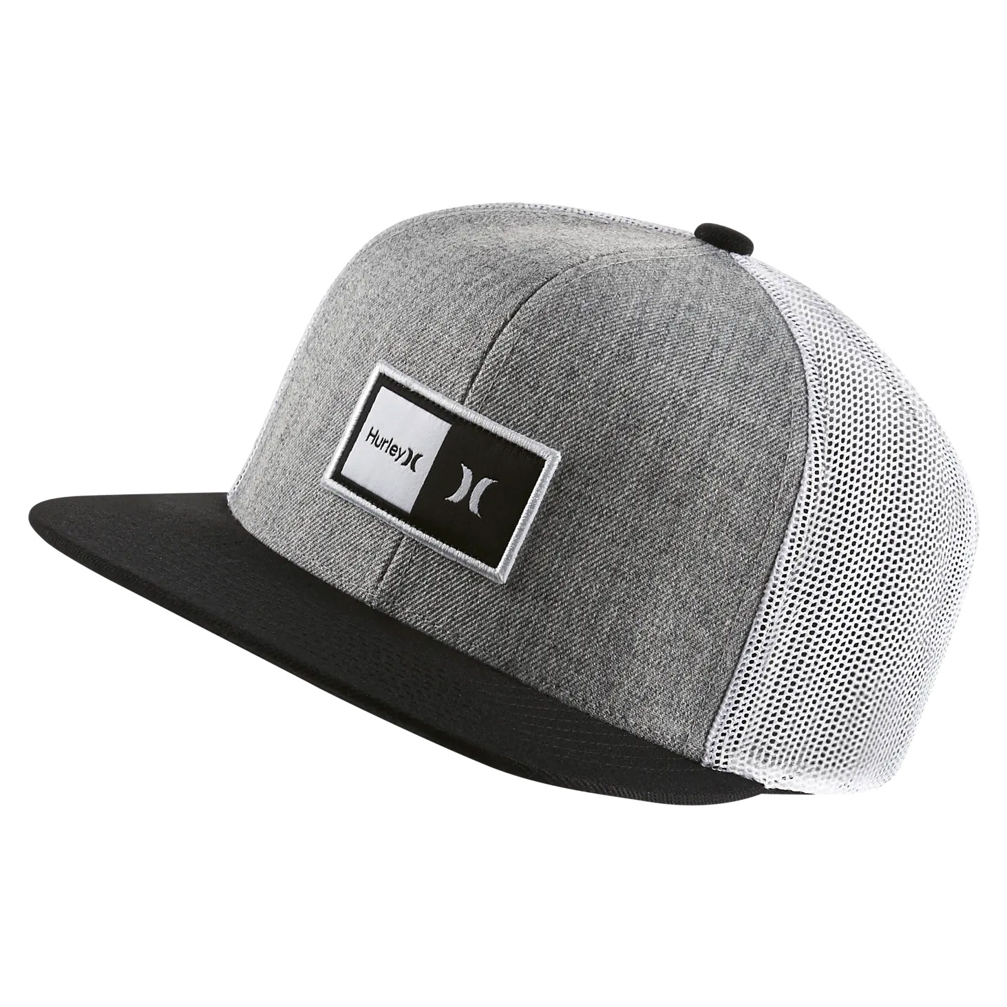 promo code cfeb2 ccdb6 Details about HURLEY Natural Trucker Snapback hat cap beanie surf skate  California logo white