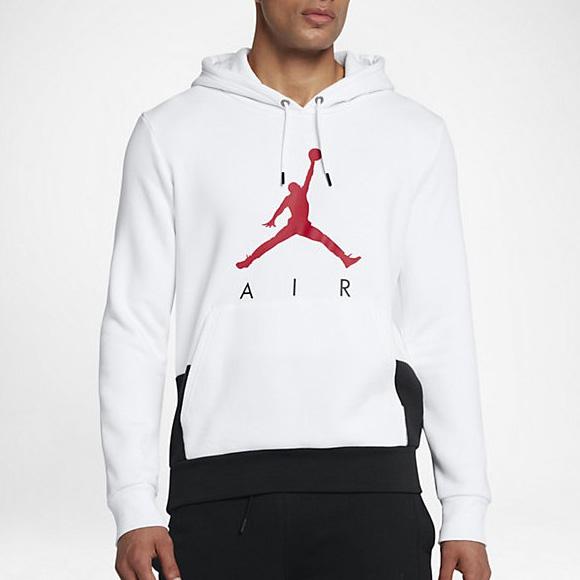 Detalles de Jordan Jumpman Aire Gráfico Full Zip Hoodie Sweatshirt Sudadera Jumper Polar ver título original