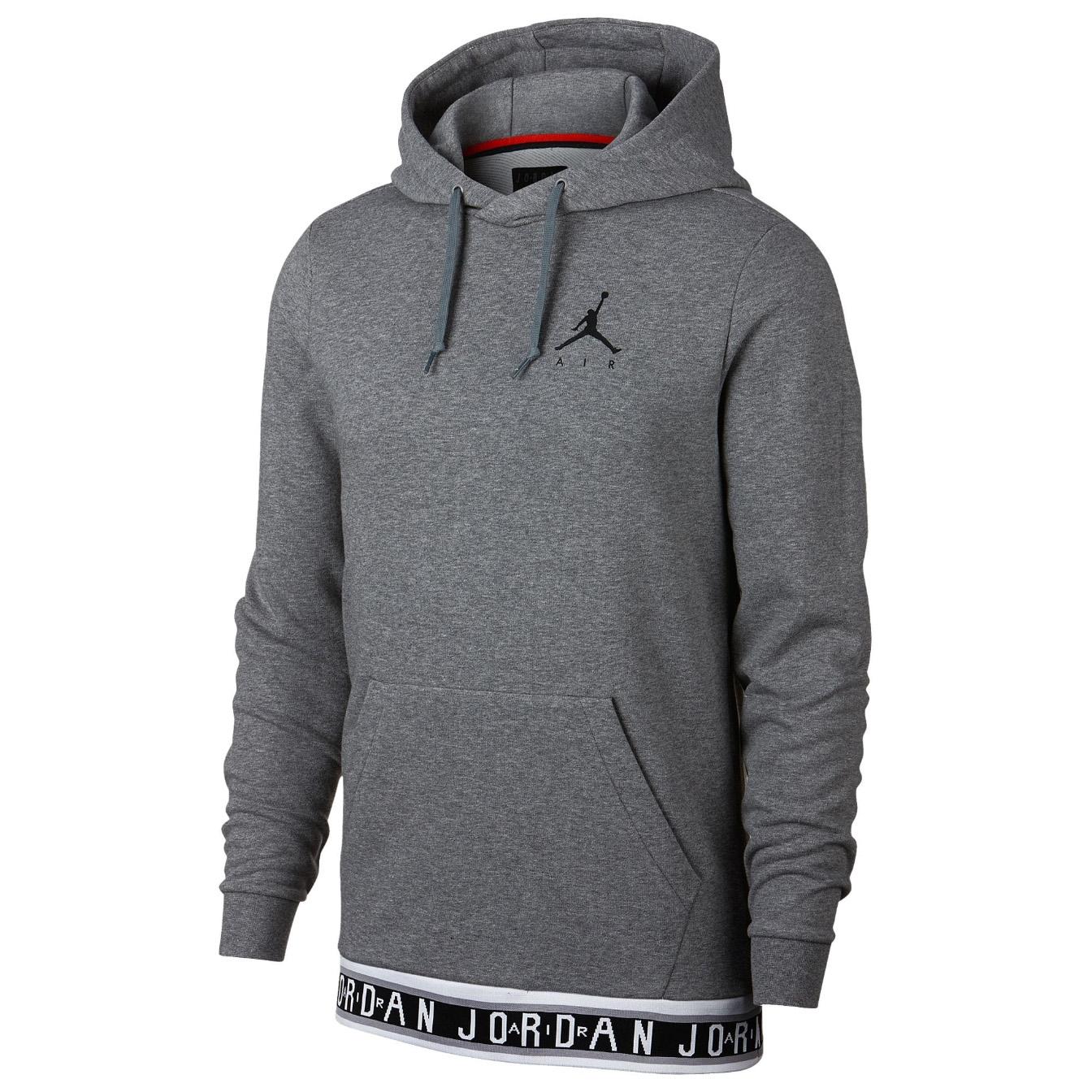 nouveau produit af21c 19eb1 Details about JORDAN Jumpman Air HBR Pull Over Hoodie Sweatshirt Sweat  Shirt jumper fleece