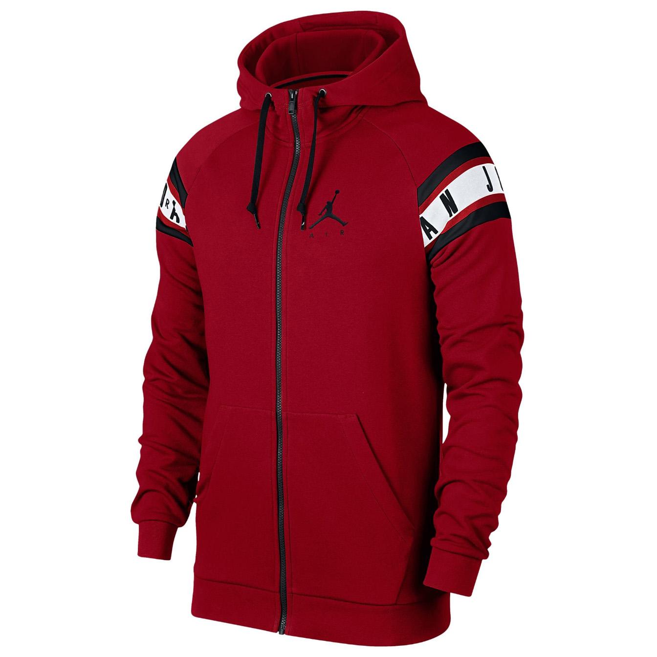 18c6e0b2e9f43c Details about JORDAN Jumpman Air HBR Full-Zip Hoodie Sweatshirt Sweat Shirt  jumper fleece