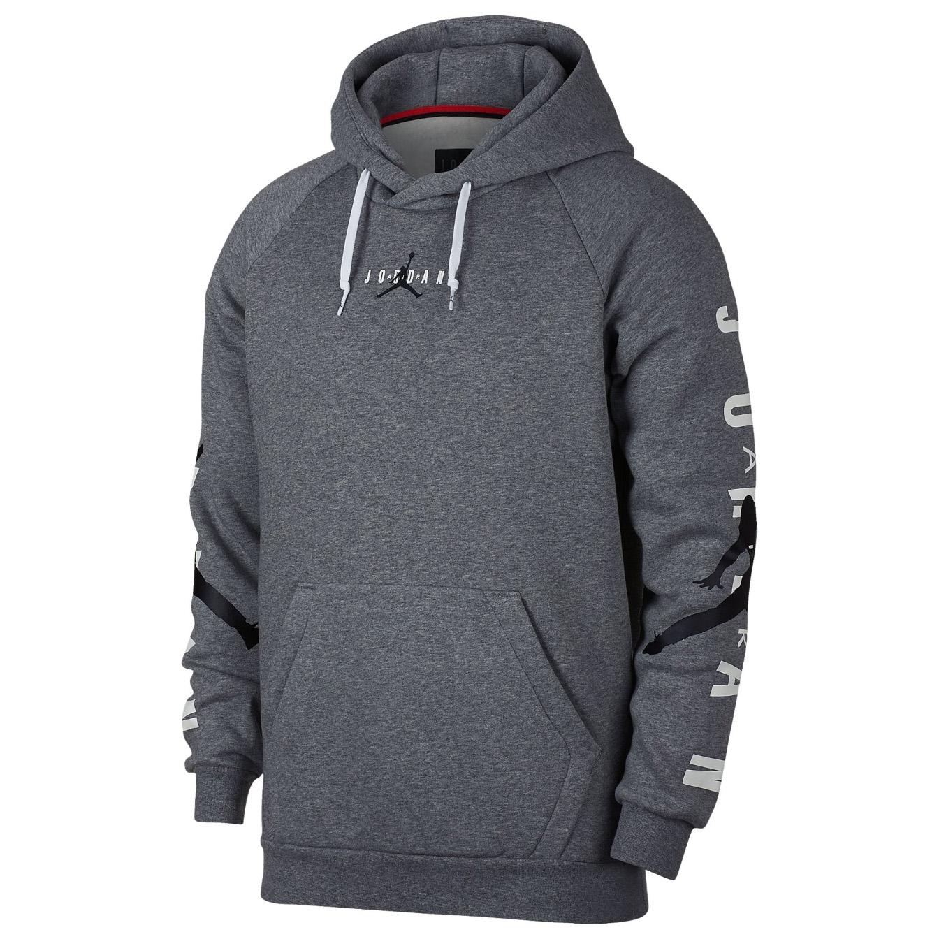 1714a60c3c3 Details about JORDAN Jumpman Air HBR Pull Over Hoodie Sweatshirt Sweat  Shirt jumper fleece