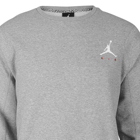 Sweat Nike Air Jordan Jumpman Brushed Crew