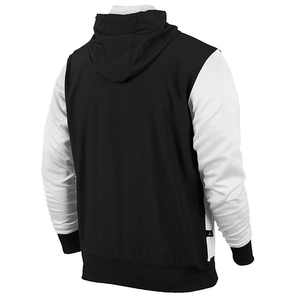 nike air jordan retro 6 hybrid hoodie hoody sweatshirt. Black Bedroom Furniture Sets. Home Design Ideas