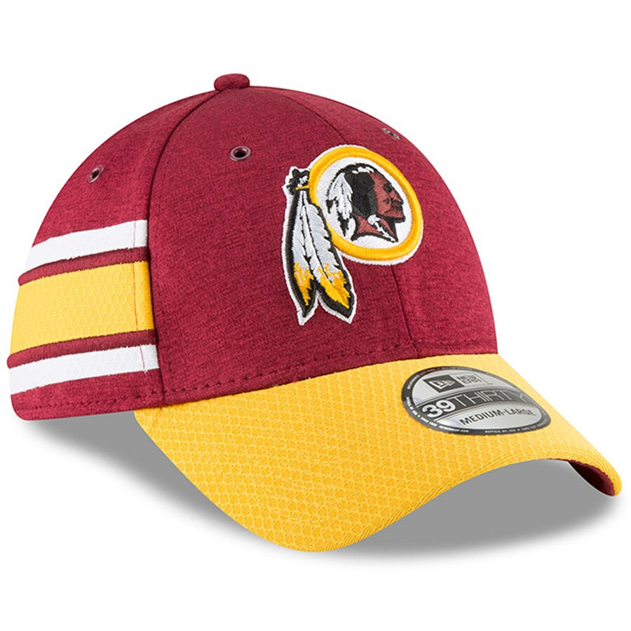 63041761 Details about New Era Washington Redskins 39THIRTY On Field Home Sideline  Stretch Hat Cap NFL