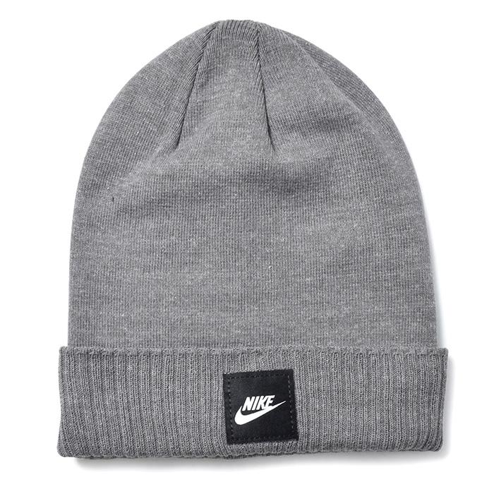 Details about NIKE Sportswear Futura Beanie Knit Hat Cap Ski Winter Running  925417-010 fd756ba27d