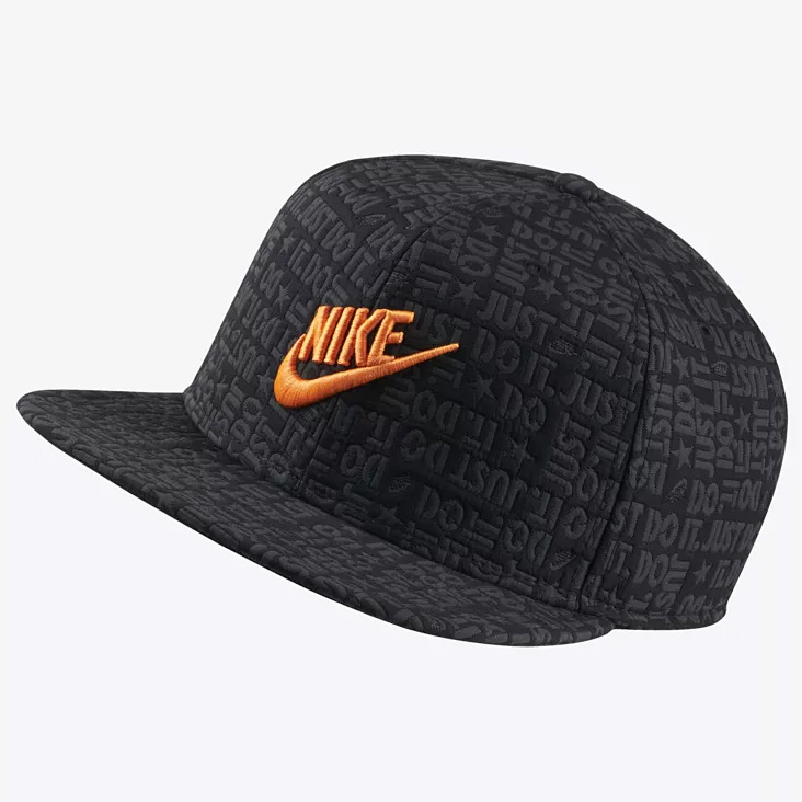 2b8cbd3d858 Details about NIKE Sportswear Pro Just Do It JDI Hat Cap One Size Adult  Black