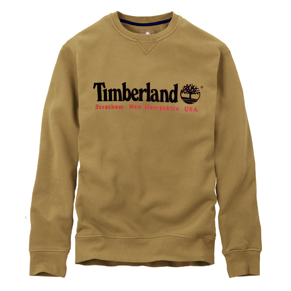 Nouveaux sweat timberland jaune t25n39